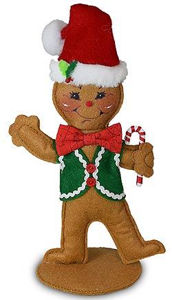 "Annalee 7"" Gingerbread Man 2020 - Mint - 660120"