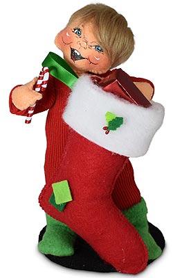 "Annalee 6"" Christmas Morning Kid 2021 - Mint - 660121"