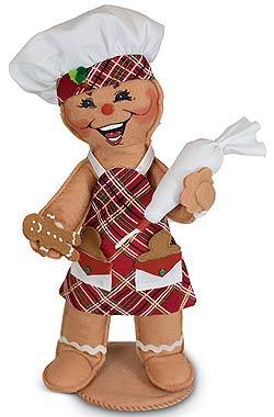 "Annalee 11"" Sugar & Spice Gingerbread Chef 2020 - Mint - 660320"