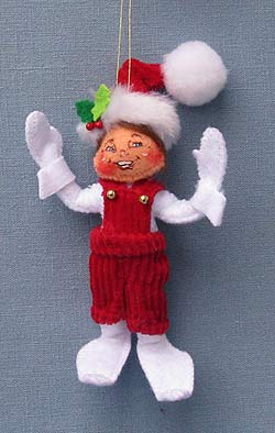 "Annalee 4"" Classic Elf Ornament - Mint - 701409"