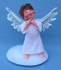 "Annalee 7"" Angel with Brown Hair - Mint/ Near Mint - 710793"