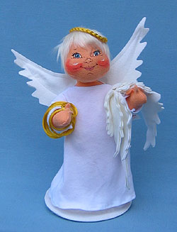"Annalee 12"" Get Your Wings Angel - Mint - 716104"