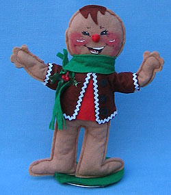 "Annalee 10"" Gingerbread Boy - Mint/ Near Mint - 729584"