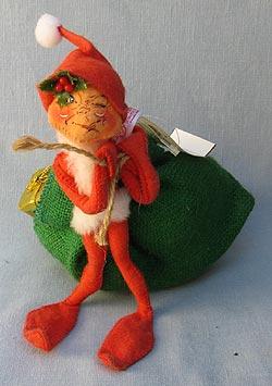 """Annalee 10"""" Santa's Helper Elf - Excellent - 737001w"""