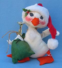 "Annalee 12"" Santa Duck - Excellent - 741690a"