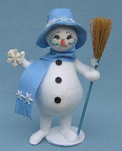 "Annalee 9"" Snowflake Snowman - Mint - 749606"