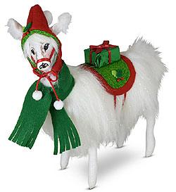 "Annalee 10"" Very Merry Llama 2020 - Mint - 760120"