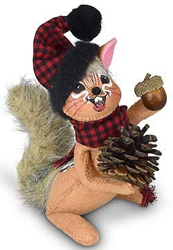 """Annalee 6"""" Winter Woods Chipmunk 2021 - Mint - 760321"""