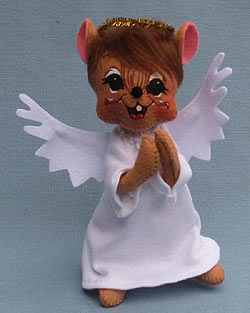 "Annalee 6"" Angel Mouse - Mint - 772410"