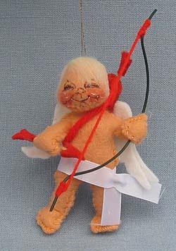 """Annalee 3"""" Cupid Ornament - Mint - 780687xx"""