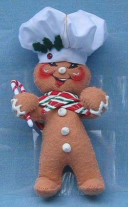 "Annalee 5"" Gingerbread Chef Ornament - Mint - 782505"