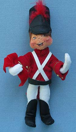 """Annalee 7"""" Toy Soldier Ornament - Mint - Prototype - 785402p"""