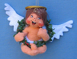 "Annalee 5"" Woodland Angel Ornament - Mint - 787304"