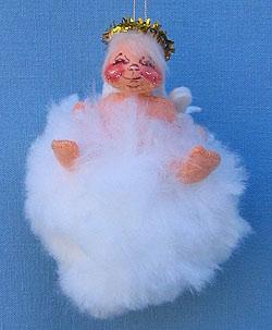 "Annalee 3"" Angel on Soft Cloud Ornament - Mint - 788084xx"