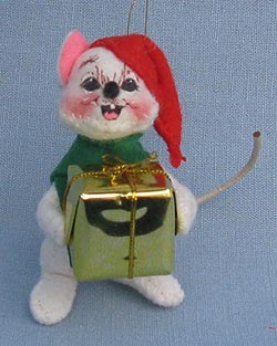 "Annalee 3"" Delivering Gift Mouse - Near Mint - 794100a"