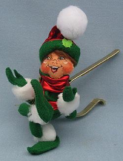 """Green Twist Garland Gripper Elf 9/"""" Annalee"""