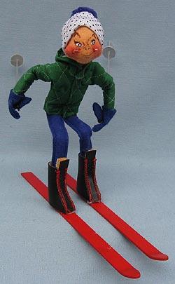"Annalee 10"" Downhill Skier - Mint / Near Mint - 815084oxw"