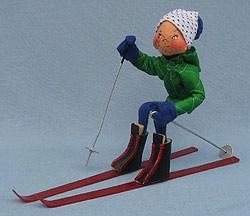 """Annalee 10"""" Downhill Skier - Mint / Near Mint - 815084sm"""