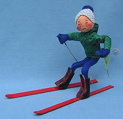 """Annalee 10"""" Downhill Skier - Mint / Near Mint - 815088xx"""