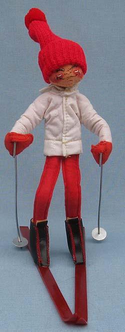 "Annalee 10"" Downhill Skier - Mint - 815085xx"