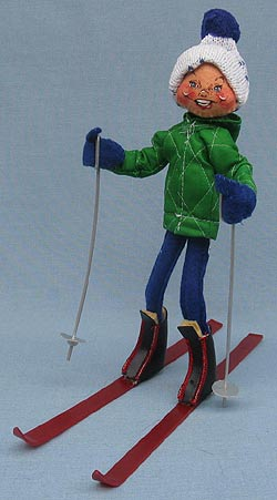 """Annalee 10"""" Downhill Skier - Mint - 815086"""