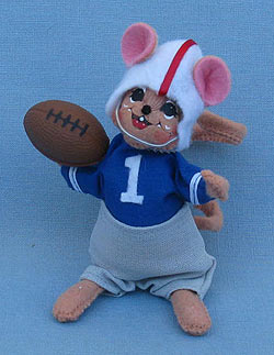 """Annalee 5"""" Football Mouse 2015 - Mint - 850015"""