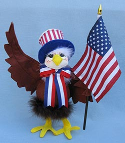 "Annalee 10"" Liberty Eagle 2013 - Mint - 851116"