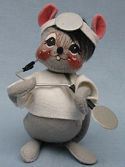 "Annalee 7"" Doctor Mouse - Mint - 853399oxt"