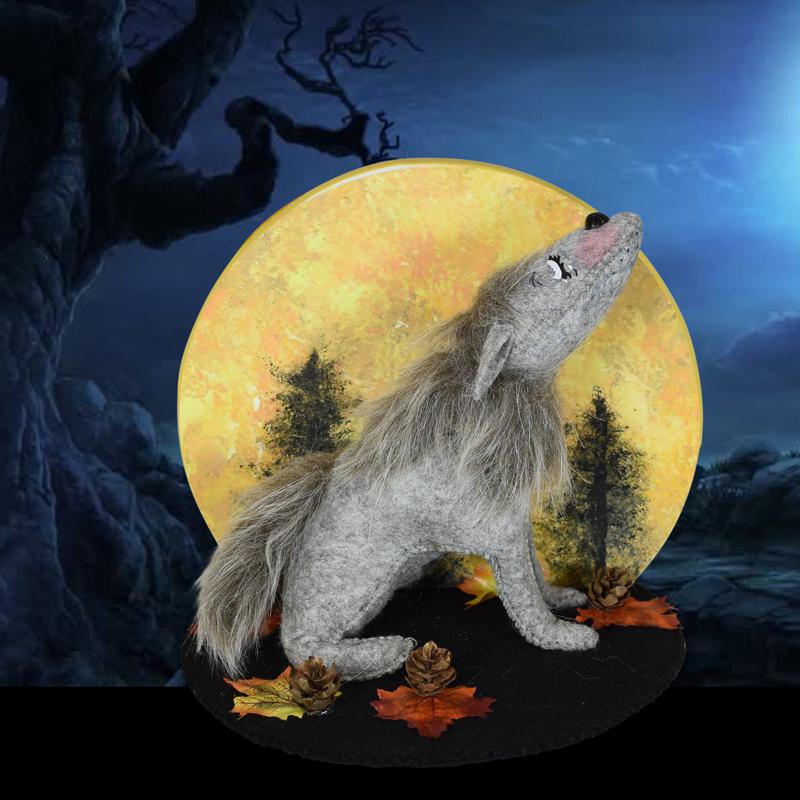 "Annalee 6"" Harvest Moon Wolf 2020 - Mint - 860720"