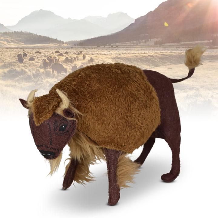 "Annalee 6"" Bison - Buffalo 2020 - Mint - 861220"