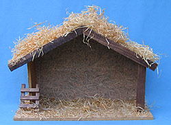 "Annalee 18"" Nativity Creche Manger - Near Mint - 916287"