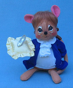 """Annalee 7"""" Cinderella Prince Mouse - Mint - 940202"""