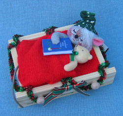 """Annalee Twas the Night 5"""" Not A Creature Was Stirring Mouse - Mint - 944304"""