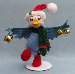 """Annalee 12 Days of Christmas 6"""" Four Calling Birds - Mint  - 944311"""