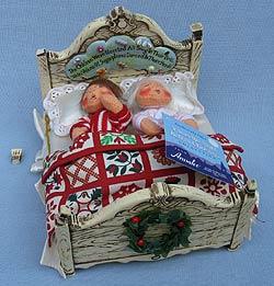 "Annalee 6"" The Children Were Nestled - Near  Mint - 944604a"