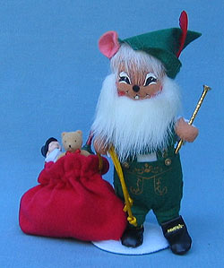 """Annalee 6"""" German Mouse - Mint - 944904"""
