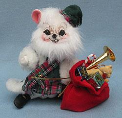 "Annalee 6"" Scottish Santa Mouse Prototype - Mint - 945104p"
