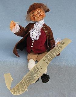 """Annalee 10"""" Ben Franklin - Excellent - 962287b"""