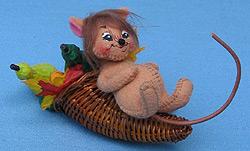 "Annalee 3"" Cornucopia Mouse - Mint - 969003"