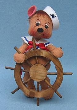 """Annalee 8"""" Nautical Bear - Mint - 970699"""