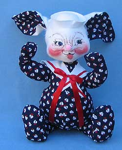 "Annalee 18"" Nautical Sailor Bunny - Mint - 971499tong"