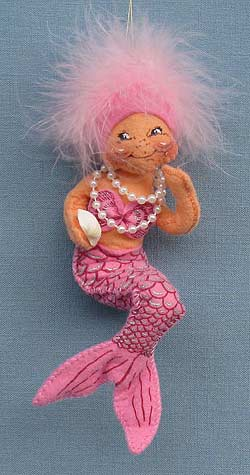 "Annalee 6"" Pink Mermaid Ornament - Mint - 983701pk"