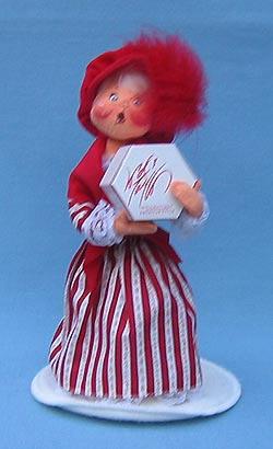 """Annalee 10"""" Little Miss Taylor Girl Shopper - Mint - 989998ooh"""