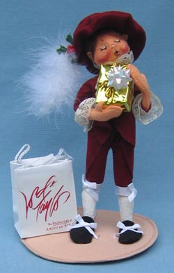 """Annalee 10"""" Little Lord Taylor Boy II - Cranberry Outfit - Mint - 993497xooh"""