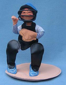 """Annalee 10"""" Baseball Catcher - Mint / Near Mint - 994694"""