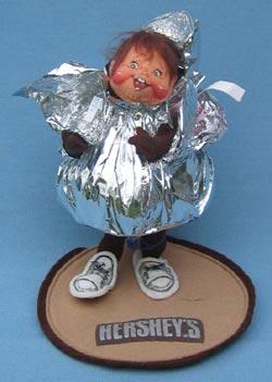 """Annalee 7"""" Hershey Kiss Kid - Mint - 995194"""