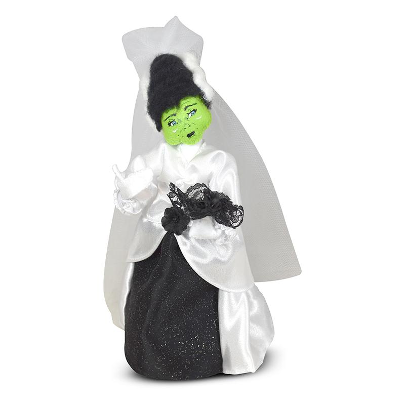 """Annalee 9"""" Frankenstein's Bride - Mint - 860521"""