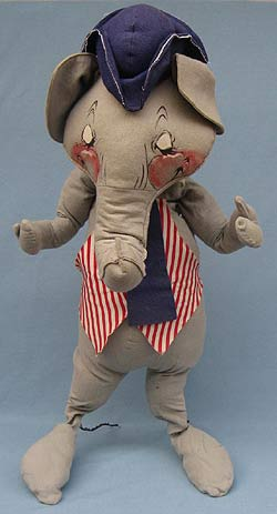 "Annalee 30"" Elephant - Excellent / Very Good - A312-76a"