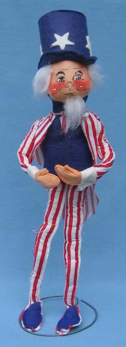 "Annalee 18"" Patriotic Uncle Sam - Excellent - A317-76a"