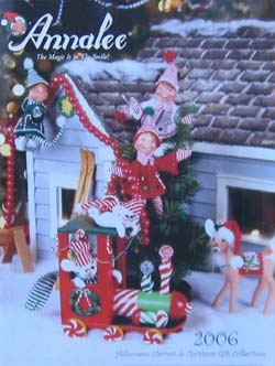 """Annalee 2006 Fall and Christmas Dealer Catalog - 8 1/2"""" x 11"""" - Ctg-06"""